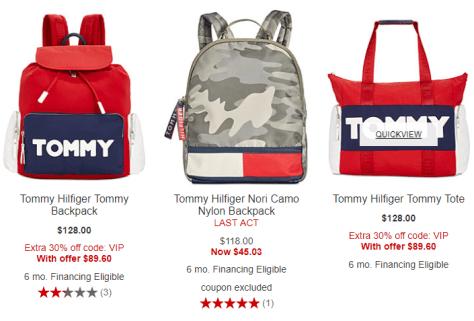 e3587563a43 Gym Bag 2018-09-19 10_39_31-Gym Bag Tommy Hilfiger Purses & Handbags -  Macy's