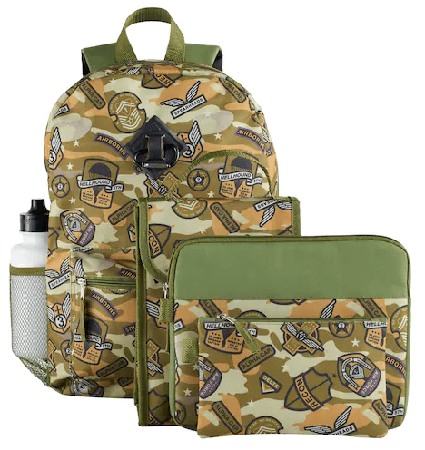 5 Piece Kid's Backpack