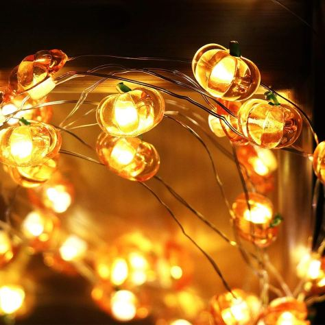 Halloween Pumpkin String Lights 2