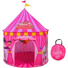 Kids Vibrant Pink Toy Circus Tent