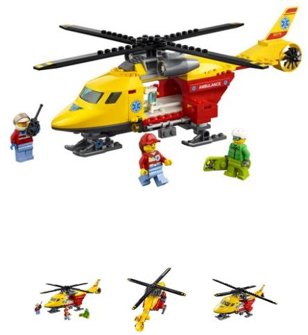 LEGO City Ambulance Helicopter