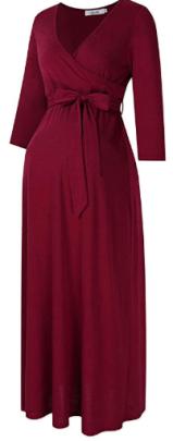 Maternity maxi dress 1