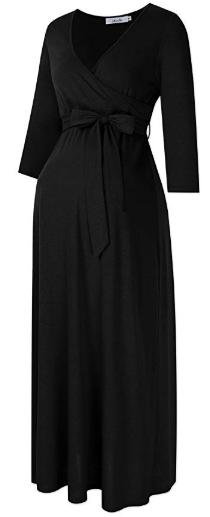 Maternity maxi dress 3