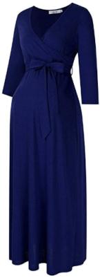 Maternity maxi dress 4