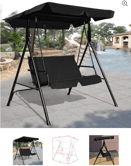Patio Canopy Swing