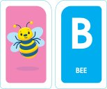 School Zone - Alphabet Flash Cards - Ages 3+, PreK, Letter-Picture Recognition, Word-Picture Recognition, Alphabet, and More Cards 3