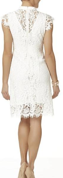 Sear's lace dress 2