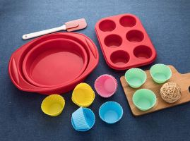 Silicone Bakeware Set-16 Piece 1