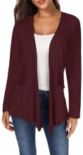 Women's Long Sleeve Open Front Breathable Cardigans 2