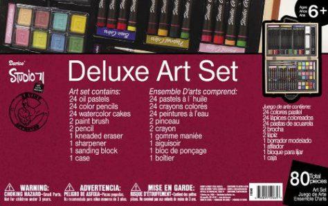 80-Piece Deluxe Art Set 1
