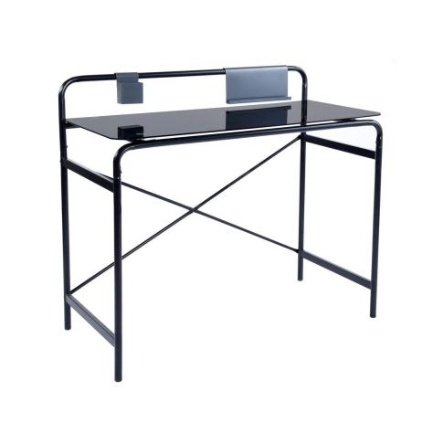 Black Finish Computer Writing Study Desk 1