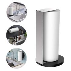 Stainless Steel Paper Towel Holder for Horizontal or Vertical Mounting or Standing 3