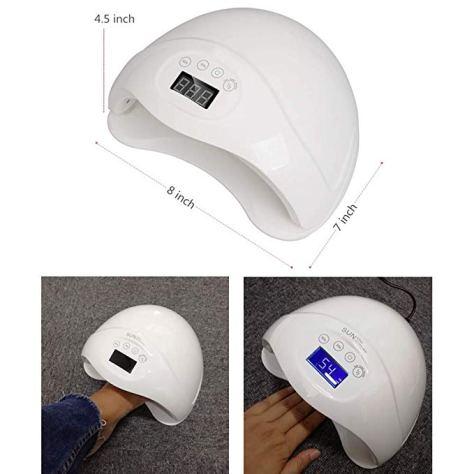 LED UV Nail Lamp Light professional Gel Curing Lamps for Fingernail & Toenail Polish 1