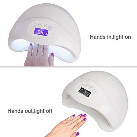 LED UV Nail Lamp Light professional Gel Curing Lamps for Fingernail & Toenail Polish 2