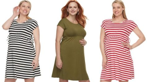 Deals Finders Kohl S Maternity Dresses Just 3 50 Reg 50