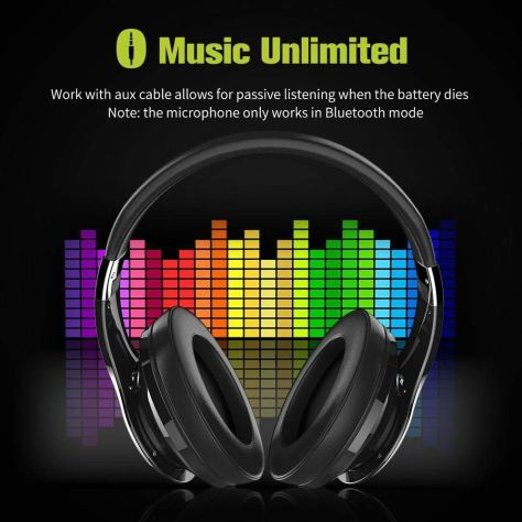 Noise Cancelling Deep Bass Portable Touch Control Wireless Bluetooth Over-Ear Headphones1