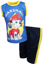 Paw Patrol Boys 2-Piece Sublimation Tank Top and Shorts Set 2