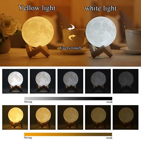 Pretty Cool Moon Lamp 2
