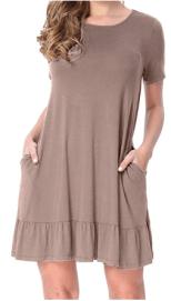 Womens Casual Tunic Dresses 2