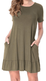 Womens Casual Tunic Dresses 3