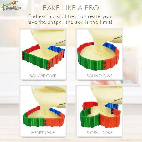 4 Pcs Silicone Baking Heart Shape Nonstick Flexible Reusable - Small Cake Molds 2.jpg