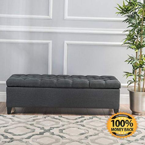 Dark Grey Tufted Fabric Storage Ottoman.jpg