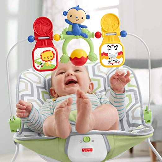 Amazon : Fisher-Price Baby's Bouncer, Geo Meadow Just $13.68 (As of 12/10/2018 12.59 PM CST)