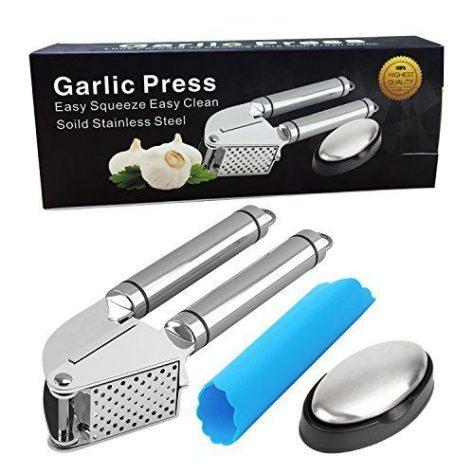 Garlic Press set of 3 2