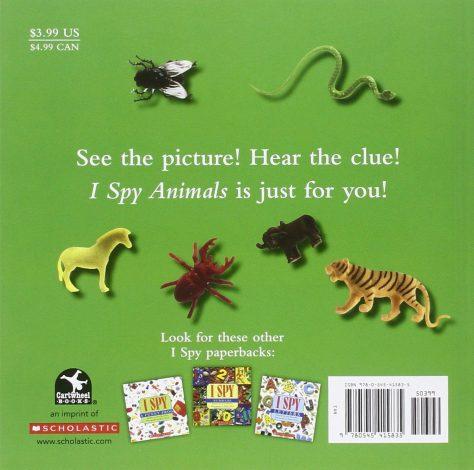 I Spy Animals Paperback 1
