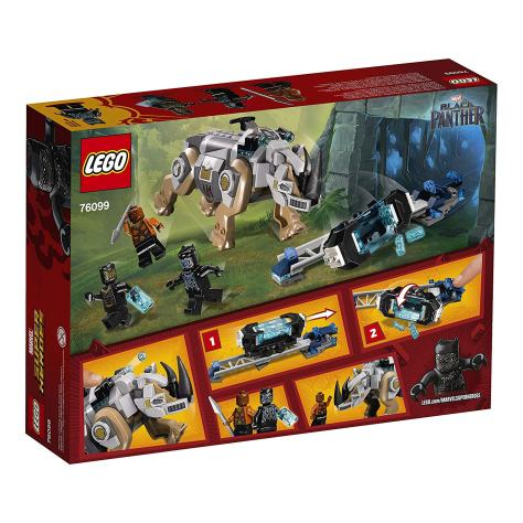 LEGO Marvel Super Heroes Rhino Face-Off by the Mine 76099 Building Kit 1