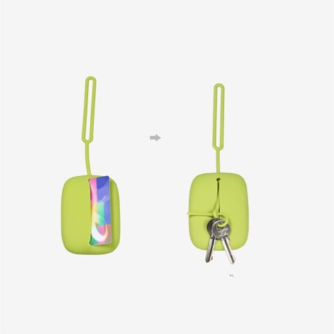 Silicone Compact Key Holder Case 2