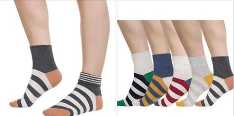 Womens Colorful Stripe Dress Socks.png
