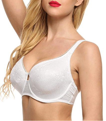 Women's Unlined Molded Underwire Bra.png