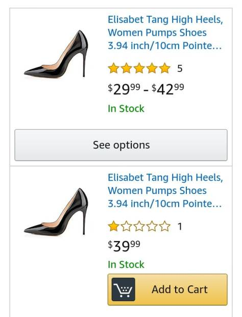6959d2f85c59c Deals Finders | Amazon: High Heels, Women Pumps Shoes 3.94 inch/10cm ...