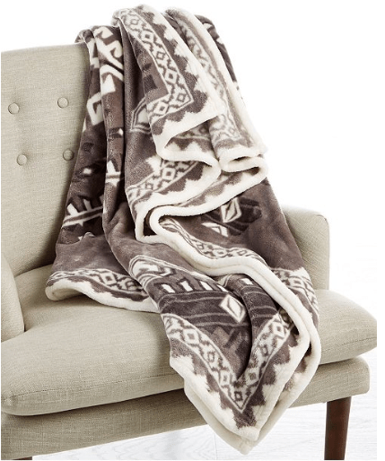 2019-01-07 19_14_37-Charter Club Cozy Plush 50_ x 70_ Throw, Created for Macy's - Blankets & Throws