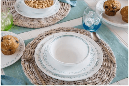Walmart : Corelle Livingware Country Cottage 16-Piece Dinnerware Set Just $28.88