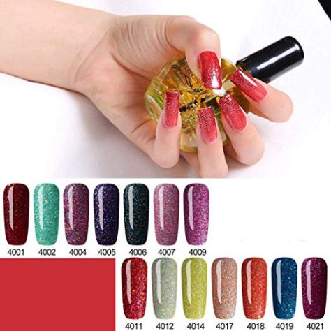 Deals Finders | Amazon : 48 Colors Long Lasting Fast Dry Gel Nail ...
