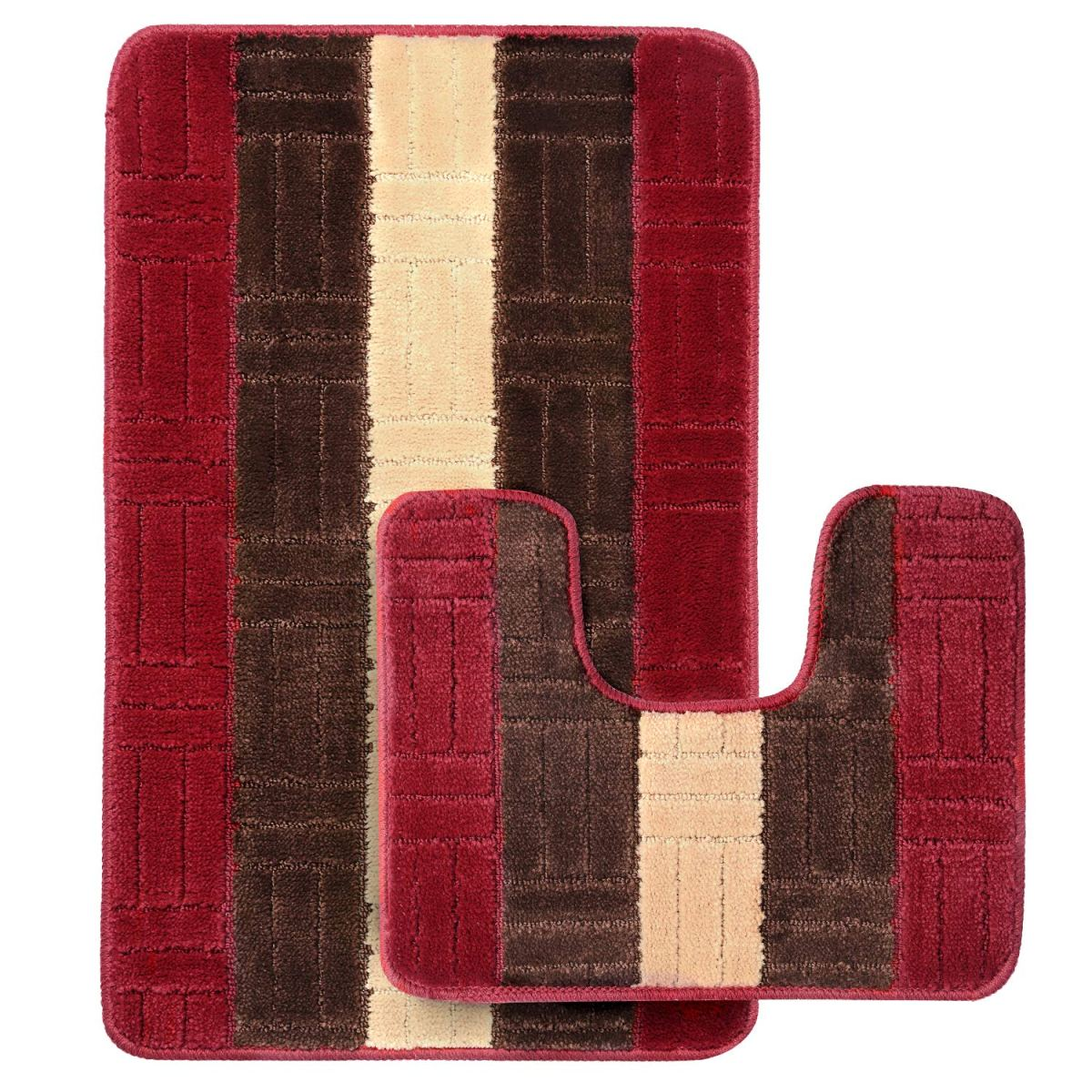 Amazon : Set Of 2 Bathroom Rug Mats Just $6.49-11.99 W/Code (Reg : $12.99-23.99) (As of 1/20/2019 6.52 PM CST)