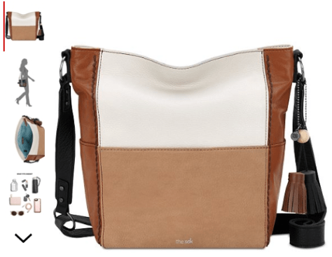 Bucket Leather Crossbody