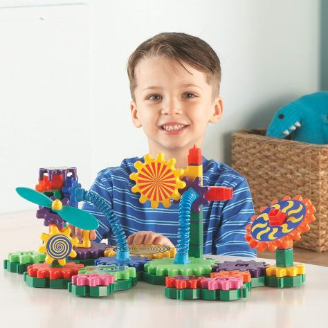 Learning Resources Gears! Gears! Gears! Gizmos Building Set, 83 Pieces 1