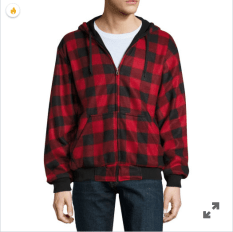 Reversible Buffalo Plaid Fleece Hoodie.png 1