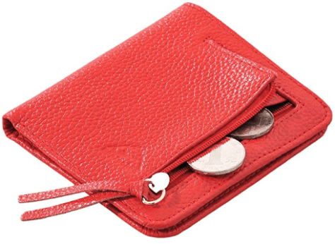 Women's Small Compact Bifold Card Wallet 2