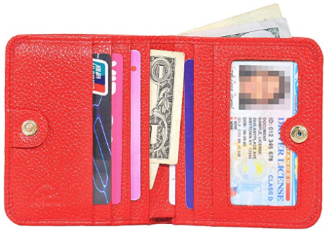Women's Small Compact Bifold Card Wallet.png 1