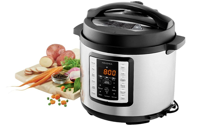 Insignia 6-Quart Multi-Function Pressure Cooker for JUST $29.99 (Regularly $100)