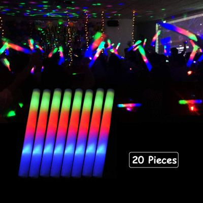 Amazon : 20 Pack LED Foam Sticks Multicolor Changing 3 Modes Flashing Glow Stick P Just $11.39 W/Code (Reg : $18.99) (As of 2/16/2019 2.12 PM CST)