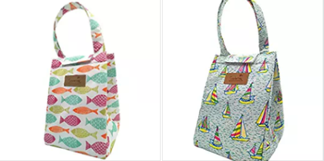 Deals Finders | Amazon : Cute Insulated Lunch Bag Just $3 99