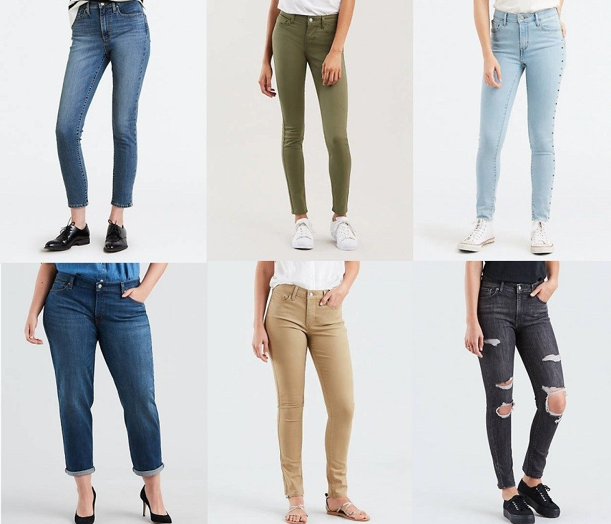SALE! AS LOW AS $17.49 (Reg : $54.50+) Levi's Women's Jeans