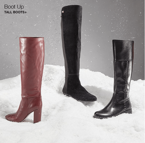 9d82e0f737620 Kenneth Cole New York – Women's Justin Block-Heel Tall Boots ONLY $90.03  (Reg $225.00)