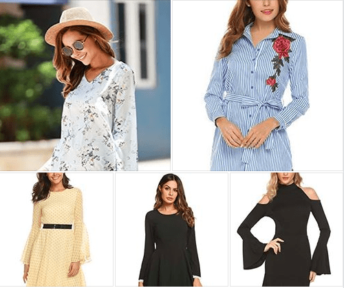 Amazon : Women's Long Sleeve Dress Just $12.00 - $15.96 W/Code (Reg : $39.90) (As of 2/16/2019 12.46 PM CST)