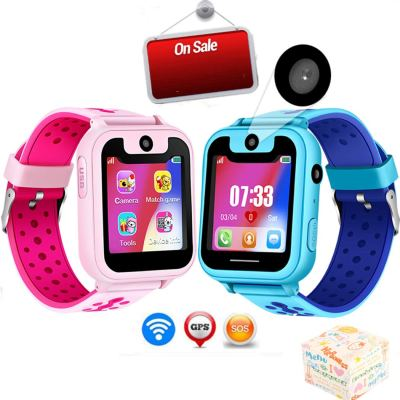 Kids Smart Watch Phone Camera Call Anti-Lost SOS Tracker Sport Watch (Blue) for $16.60 w/code